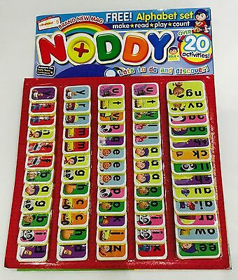 NODDY Magazine #4 - FREE NODDY ALPHABET PLAYSET! (BRAND NEW MAGAZINE!)