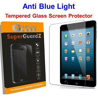 2X Tempered Glass Anti Blue Light Screen Protector For iPad Air 2 & 1/ Pro 9.7""