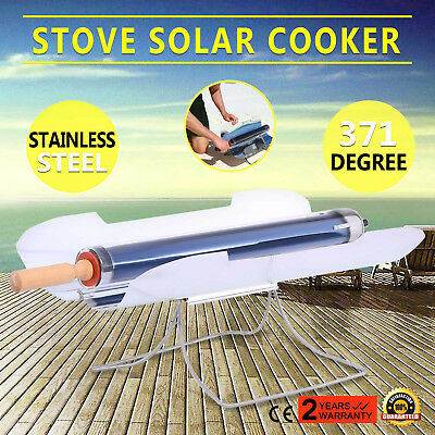 Stove Solar Cooker Oven Bbq Grill Sun Cooking Fuel Free Backyard Roasting Pro