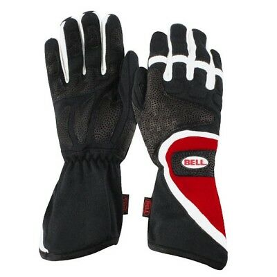 Bell Formula II Racing Gloves, Red, Size XL