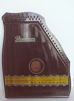 "Antique 49 Strings Zither Auto-harp ""RAUNER "", Made in Germany 1900"