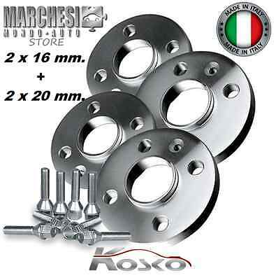 Kit 4 Distanziali Ruote 16+20 Mm. Audi A8 (Type 4E) 2002->2009 Con Bulloni