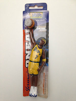 The Original SLAM DUNK TOOTHBRUSH Collector JERMAINE O'NEAL Lil MVPs Basketball