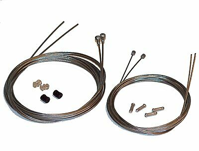 Clarks Road Bike Complete Inner Replacement Cable Set, Brake & Gear