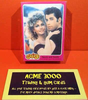 Topps 1978 - Grease Series 1 - Complete Set Of 66 Cards