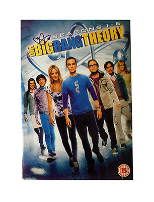 NEW- The Big Bang Theory Series 1-6 - Complete (DVD, 2013, 19-Disc Set, Box-Set)