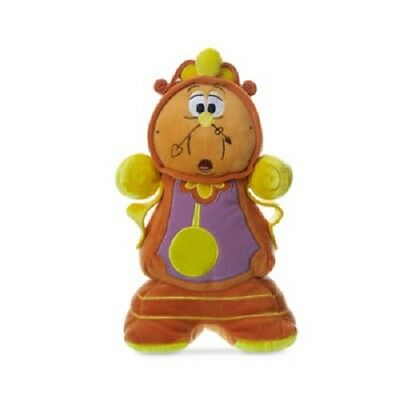Disney Beauty And The Beast Cogsworth Soft Toy BNWT 27cm High