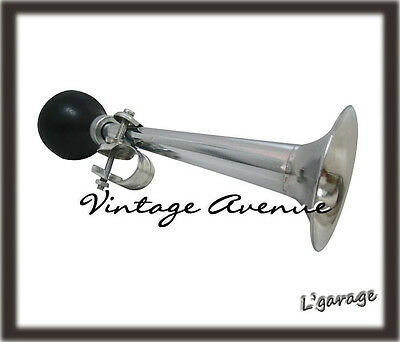 [Lg3227] Stylish Retro Classic Bike Horn W/ Rubber Bulb (A)