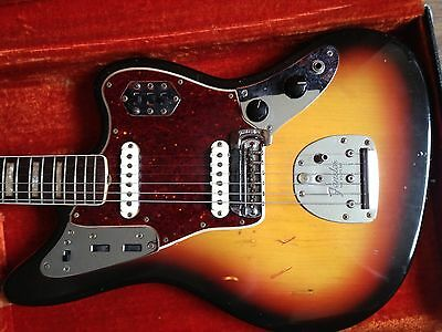 Fender Jaguar 1966 original - nearly untouched - case included
