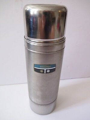 THERMOS VINTAGE #2460S Stainless Steel Vacuum Bottle Coffee Insulated Coffee Tea