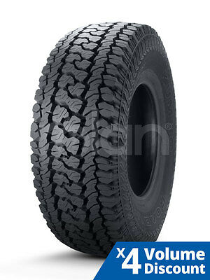 4 x Kumho Tyre 245/70R16 Inch 111T AT51 [FOR: MITSUBISHI TRITON MN]
