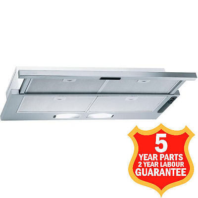 90cm Cooker Hood Canopy Extractor Fan 618m3/h Built-in S3PLUS90IX MADE IN ITALY