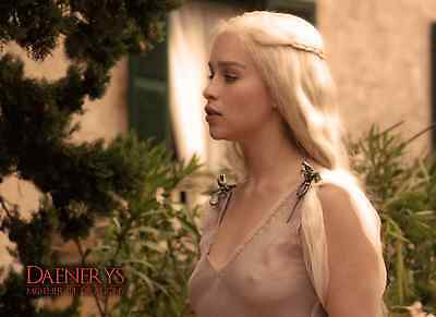 Unofficial Game of Thrones Daenerys (7) *Glossy A4 print Poster - Khalessi