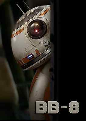 Unofficial Star Wars BB-8 (19) *A3* print Poster - Rogue One Force Awakens