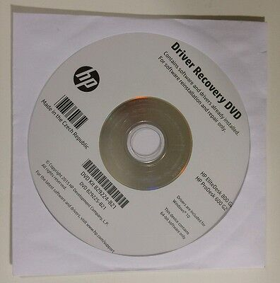 Driver Recovery DVD Windows 10