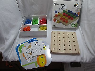 PlanToys Plan Preschool Creative Peg Boad Preschool AA4