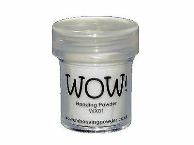 WOW! Bonding Embossing Powder - Use with Foils Glitter Flocking & More!