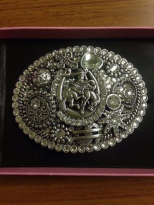 Women's Horse/Rodeo Themed Large Belt Buckle