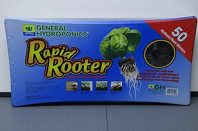 General Hydroponics Rapid Rooter Tray 50 Cell Tray & Plugs GH3254 NEW