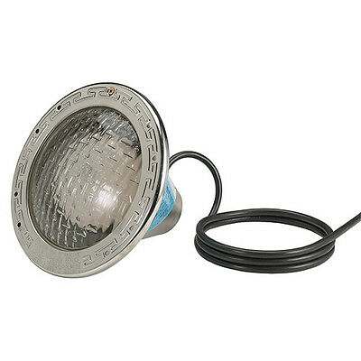 Pentair Amerlite 120V 500W 100' Cord Pool Light with Stainless Steel Face Ring