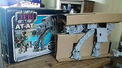 Star Wars Return Of The Jedi Meccano Palitoy General Mills At-At Boxed Complete