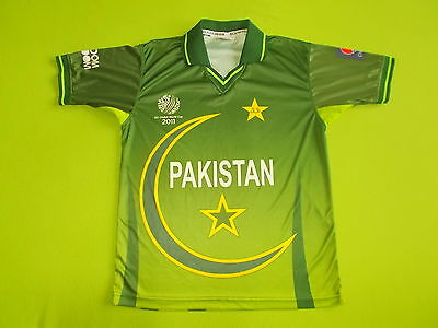 Shirt PAKISTAN (M) BOOM BOOM World Cup 2011 PERFECT !!! Jersey Cricket home