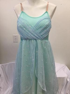 Dance Costume Child & Adult Sizes Pastel Lyrical Ballet Solo Competition Pageant