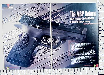 2006 THE M&P Smith & Wesson Military & Police Pistol 7-Pg MAGAZINE ARTICLE 2789a