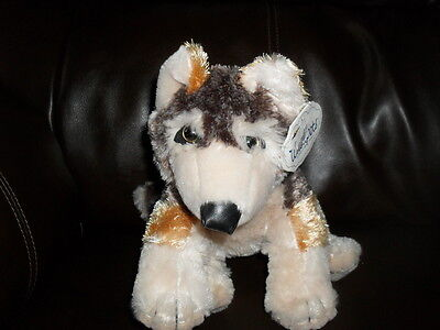 Wishpets Red Wolf Plush with tags