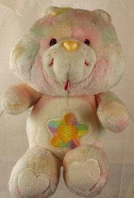 "Vintage TRUE HEART Care Bear Plush 13"" Near Mint Condition"