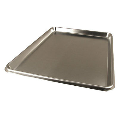 Focus Foodservice 901826SS 18in x 26in x 1in 20ga Stainless Steel Sheet Pan