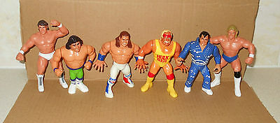 Vintage And Wcw And Wwf Figures (Wwe)