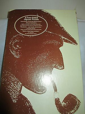 Vintage Sherlock Holmes 2 sided puzzle - over 500 pieces - complete - 1975