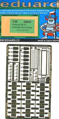 eduard Centurion Mk. 5/1 Australian Boxes model kit Etched parts 1:35 Photoetch