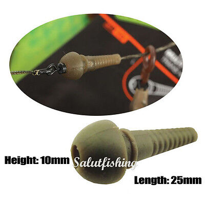 Carp Tadpole bead/Running rig stop soft tapered multi bead mixed package