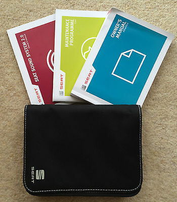 Seat Alhambra Owners Manual Handbook Pack With Wallet +Service 2012-2014 Ref2594
