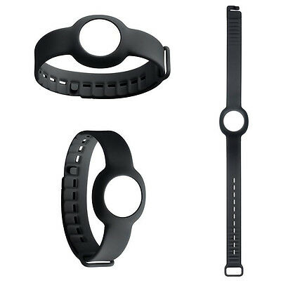 Black Large Replacement Wristband Band for Jawbone UP Move Strap Bracelet UK