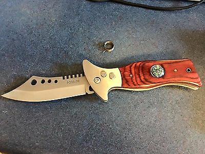 Forsyth Stainless Steel Hunting Knife BNIB with coil