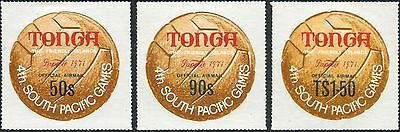 Tonga official 1971 SGO67 Fourth South Pacific Games Tahiti set MNH