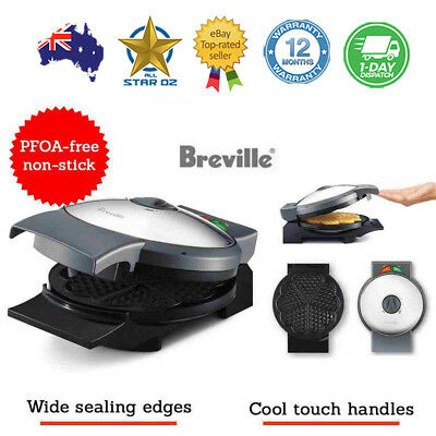 Waffle Maker Machine Electric Non Stick Breville