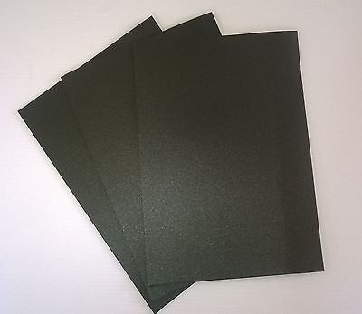 10 A4 black foam sheets- Adhesive backed one side - 2mm thick