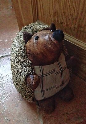 Doorstop Fabric material Hedgehog Animal Heavy Weighted Stopper Brand NEW