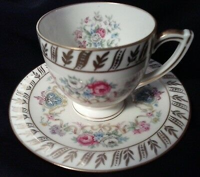 H&C Haas-Czjzek Coronado Fine china/ porcelain demitasse cup(s) and saucer(s)