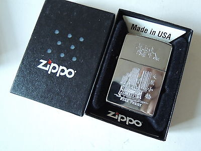 Authentic Zippo Lighter - Star Ferry  - No Inside Guts Insert