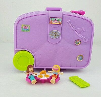 Vintage Polly Pocket Holiday Fun Suitcase 100%Complete 1996 excellent condition