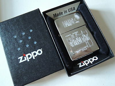 Authentic Zippo Lighter - HK Clock Tower 243047 - No Inside Guts Insert