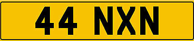 * 44 Nxn * Dateless 5 Digit 2X3 Cherished Private Number Plate * 44 Nxn *