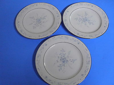 Lot Of 3 Noritake Carolyn Lunch Plates 8 1/4 Inches