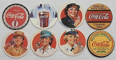 Collect A Card Coca Cola Coke Caps Series 2 Full Set of 8