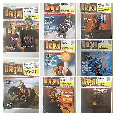 Dragon 188-238 D&D The World Foremost RPG Magazine multilist-select yours issue